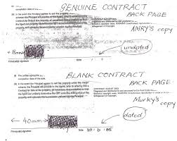 sydney real estate agent cheats was there actually a contract