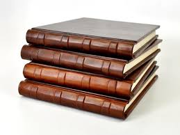 leather guest book chestnut italian leather guest book bick bookbinding