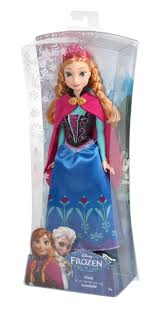 under 25 disney frozen sparkle anna of arendelle doll toys for