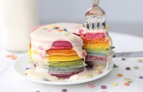 celebration rainbow pancake kit make colorful pancakes now