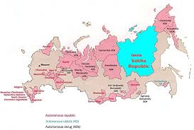map quiz russia and the republics introduction to yakutia sakha and russia s grandiose plans for