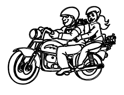 police motorcycle coloring pages glum me