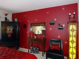 bedroom paint ideas red interior design
