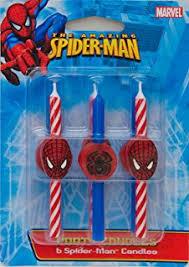 Amazon Com Decopac Spiderman Light Up Eyes Decoset Cake Topper