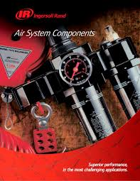 air system components catalog ingersoll rand pdf catalogue