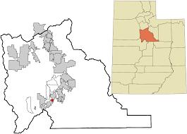 Map Of University Of Utah by Spring Lake Utah Wikipedia