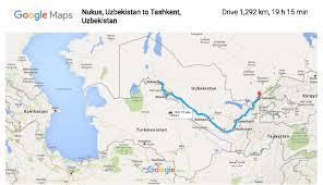 Trip Planner Map The Uzbekistan Trip Planner U2013 My Favourite Things
