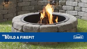 Fire Pit Kits by How To Build An Outdoor Fire Pit I Love Grill