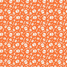 skull wrapping paper seamless pattern with skull for wrapping paper