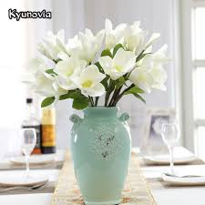 Magnolia Home Decor by Compare Prices On Artificial Magnolia Flowers Online Shopping Buy