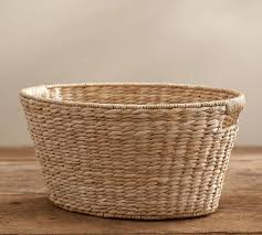 Pottery Barn Baskets With Liners Savannah Laundry Basket Pottery Barn