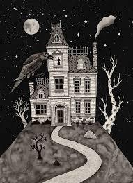 pictures of cartoon haunted houses eerie haunted house eerie haunted house gif halloween halloween