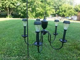 Repurposing Old Chandeliers Chandelier Solar Light My Repurposed Life
