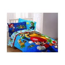 Mario Bros Bed Set Mario Bros Comforter Brothers Reversible Bedspread
