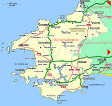 where is wales on the map pembrokeshire cottages cottages in pembrokeshire