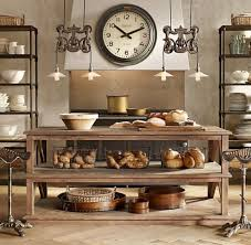 kitchen island vintage interior decoration vintage kitchen with high brown metal bar