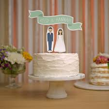 word cake toppers inspirational ideas