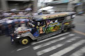 jeepney interior philippines ap photos upgrade may dethrone manila u0027s u0027king of the road