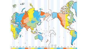 Detailed World Map Standard Time by Chapter 1 Thinking Geographically Maps The Tool Of The