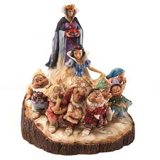 amazon com disney traditions by jim shore wood carved snow white