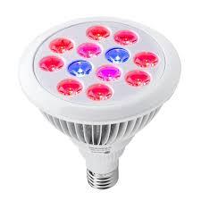 taotronics 24w led grow light bulb miracle grow plant light for
