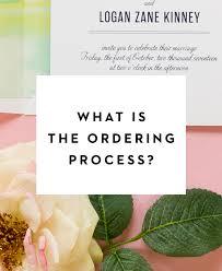 Order Wedding Invitations When To Send Wedding Invitations Fine Day Press