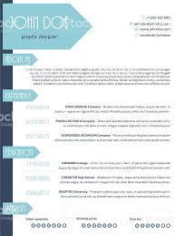 curriculum vitae resume template simplistic modern resume curriculum vitae cv template design wit simplistic modern resume curriculum vitae cv template design wit royalty free stock vector art