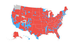 Map De Usa by How The Election Unfolded Usa Today