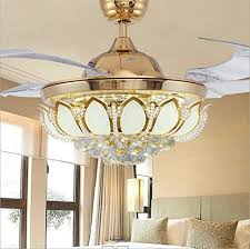 Retractable Ceiling Light by Retractable Ceiling Fan Led Fan Lights Living Room Lamp Bedroom