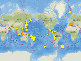 Italy Earthquake Map by South Atlantic Italy And Australia Earthquakes 18 24 August 2016
