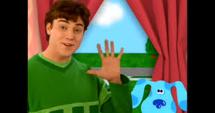 blues clues characters steve filea blue clue with kevinpng blues