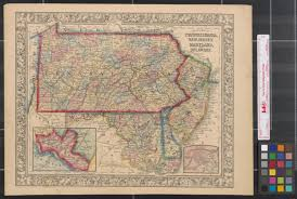 map of maryland delaware and new jersey county map of pennsylvania new jersey maryland and delaware