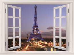 eiffel tower evening lights paris france art huge beautifully