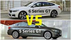 2018 bmw 6 series gran turismo vs bmw 5 series gran turismo youtube