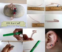 how to make ear cuffs diy ear cuff fabdiy
