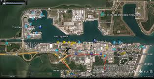 port canaveral map port canaveral transportation to cocoa cruise
