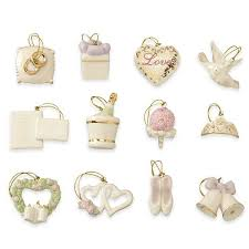 wedding 12 pc mini ornament set ornament tree sets