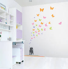 Butterfly Wall Decals For Nursery by Wall Decals For Kids Bedroom Photos And Video Wylielauderhouse Com