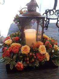 Fall Floral Decorations - best 25 fall lantern centerpieces ideas on pinterest autumn