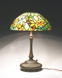 tiffany l base reproductions lighting splendid tiffany art nouveau table l with yellow white