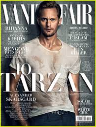 Kim Kardashian Vanity Fair Cover Alexander Skarsgard Is Wet U0026 On Italian U0027vanity Fair U0027 Cover