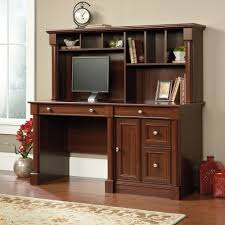 Computer Desk With Hutch Cherry Palladia Computer Desk With Hutch 420513 Sauder