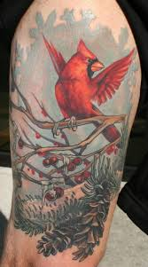 cardinal tattoo fort wayne indiana tribal cardinal tattoo