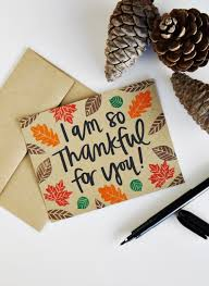 i am so thankful for you thanksgiving card by atiliay
