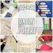 peek at my week poetry word walls and indiana mrs wills