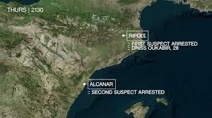 car used in spanish terror attack caught speeding in paris last