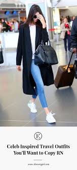 Kentucky Travel Outfits images Celeb inspired travel outfits you 39 ll want to copy rn the everygirl jpg