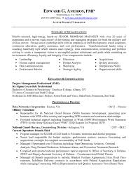 Sharepoint Project Manager Resume Highly Qualified Senior Program Manager Resume Sample With Summary