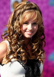 curly hairstyle medium for