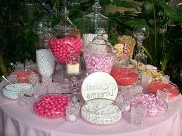 Apothecary Jars For Candy Buffet by Candy Buffet Ideas For Weddings Pink Candy Bar For Wedding